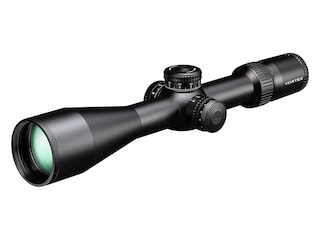 Vortex Optics Strike Eagle Rifle Scope 34mm Tube 5-25x 56mm 1/10 Mil Adjustments Rev Stop Zero Sytem Locking Turrets Side Focus First Focal Illuminated EBR-7C MRAD Reticle Matte