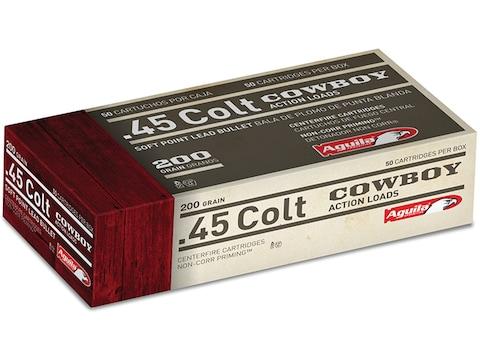 Aguila Ammunition 45 Colt (Long Colt) 200 Grain Soft Point