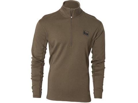 Banded Men's Midweight Base Layer 1/4 Zip Long Sleeve Shirt Merino Wool