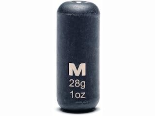 Mustad Carolina Weight 1oz Tungsten Black 1Pk