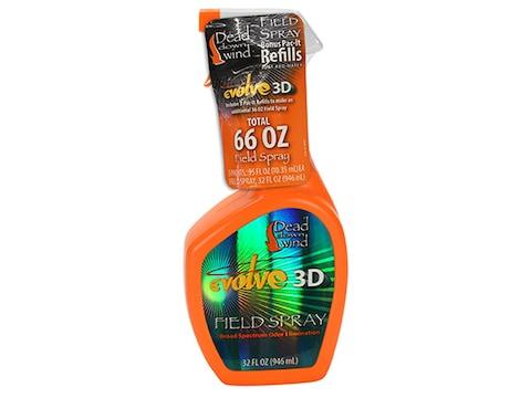 Dead Down Wind Scent Eliminator 3D Field Spray Combo