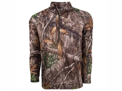 King's Camo Men's XKG Elevation 1/4 Zip T-Shirt Polyester