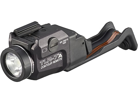 Streamlight TLR-7A Contour Remote Weapon Light LED fits Picatinny or Glock-Style Rails ...