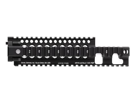 Daniel Defense Lite Rail II 9.5 FSP Free Float Handguard Quad Rail AR-15 Extended Carbi...