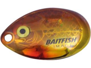 Northland Baitfish-Image Indiana Blade #4 Golden Shiner 3 pk