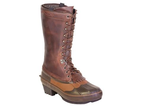 """Kenetrek Cowboy 13"""" Pac Boots Leather/Rubber Brown Men's"""