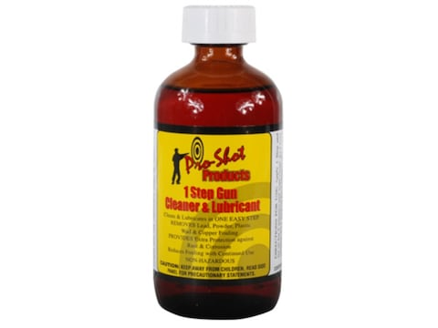 Pro-Shot 1-Step Bore Cleaning Solvent and Lubricant 8 oz Bottle