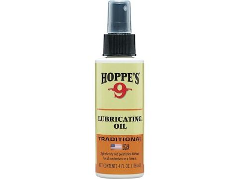 Hoppe's #9 Gun Oil 4 oz Pump