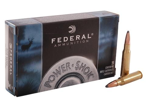 Federal Power-Shok Ammunition 308 Winchester 150 Grain Soft Point