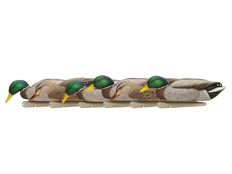 Avian-X Back Water Mallards Weighted Keel Duck Decoy Pack of 6