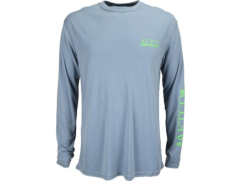 AFTCO Men's Anytime Dri-Release Performance Long Sleeve T-Shirt