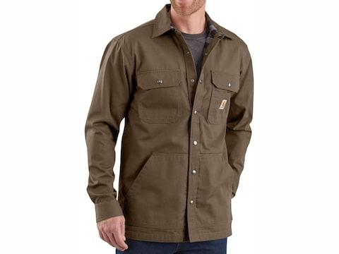Carhartt Men's Ripstop Solid Shirt Jac Cotton/Ripstop