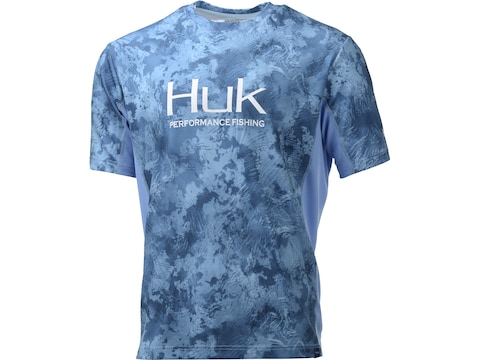 Huk Men's Icon X Camo Performance Short Sleeve Shirt Polyester/Spandex
