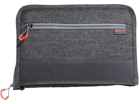 """Allen Auto-Fit 2.0 Handgun Case 11"""" Gray/Red"""