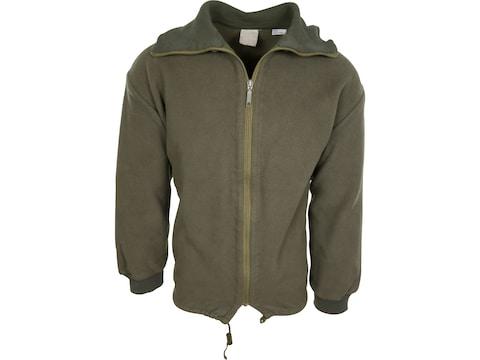Military Surplus Belgian Fleece Jacket Olive Drab