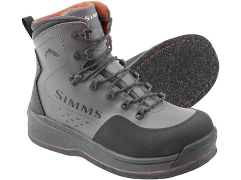 Simms Freestone Felt Wading Boots Gunmetal Men's