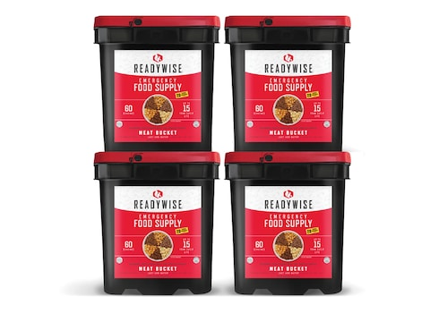 ReadyWise 240 Serving Meat Freeze Dried Food Kit
