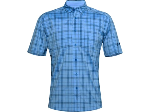 Under Armour Men's UA Tide Chaser 2.0 Short Sleeve Plaid Shirt