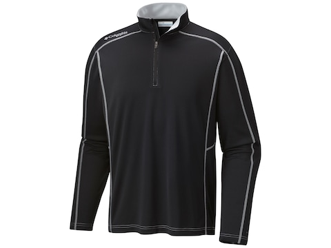 Columbia Men's PFG Low Drag 1/4 Zip Long Sleeve Shirt Polyester