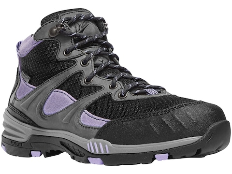 """Danner Springfield 4.5"""" Non-Metallic Safety Toe Work Boots Leather/Nylon Gray/Lavender ..."""