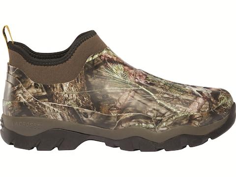 "LaCrosse Alpha Muddy 4.5"" Utility Shoes Rubber Clad Neoprene Men's"