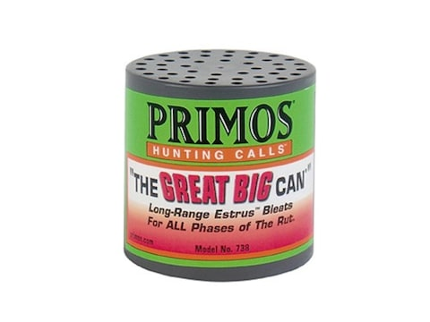"Primos ""The Great Big Can"" Deer Call"