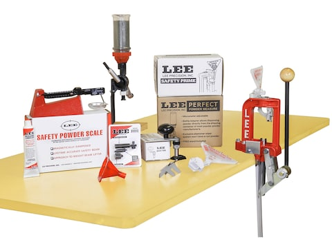 Lee Challenger Breech Lock Single Stage Press Anniversary Kit