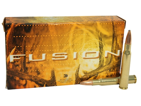 Federal Fusion Ammunition 30-06 Springfield 150 Grain Bonded Spitzer Boat Tail Box of 20