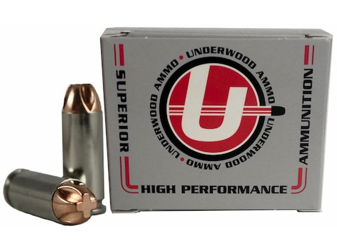 Underwood Ammunition 10mm Auto 140 Grain Lehigh Xtreme Penetrator Lead-Free Box of 20