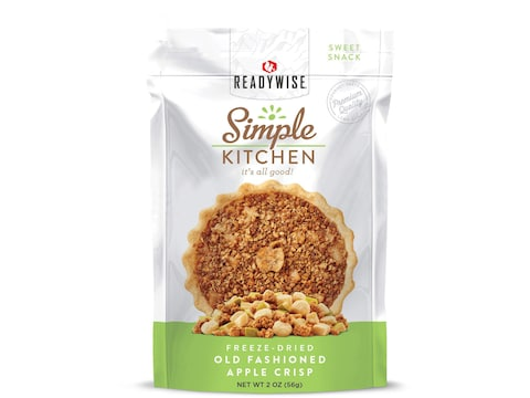 ReadyWise Simple Kitchen Old Fashioned Apple Crisp Freeze Dried Food
