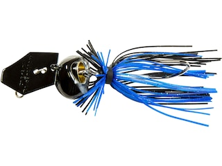 Z-Man Chatterbait Freedom CFL Bladed Jig Black/Blue 3/4 oz