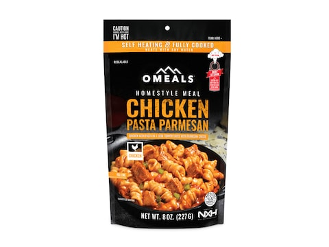 OMEALS Chicken Pasta Parmesan Self Heating Meal
