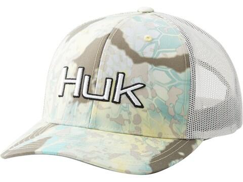 Huk Men's Kryptek Current Angler Sport Snapback Trucker Cap