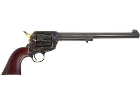 """Cimarron Frontier Buntline Revolver 45 Colt (Long Colt) 10"""" Barrel Color Case Hardened,..."""