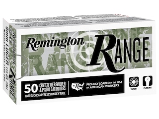 Remington Range Ammunition 9mm Luger 115 Grain Full Metal Jacket Box of 100