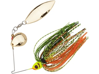 BOOYAH Blade Tandem Spinnerbait 1/4oz Perch Gold
