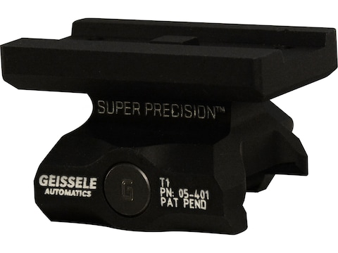 Geissele Super Precision APT1 Aimpoint T-1 & T-1 Patterned Optics Sight Mount Picatinny...