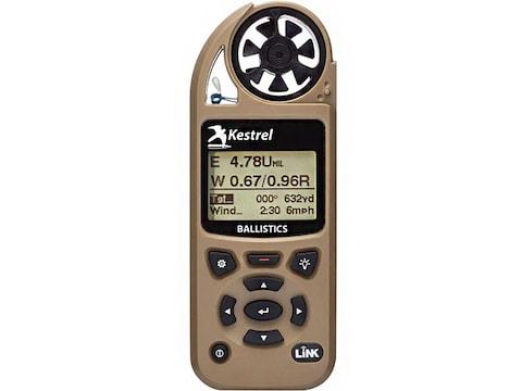 Kestrel 5700 Hand Held Weather Meter with LINK Desert Tan