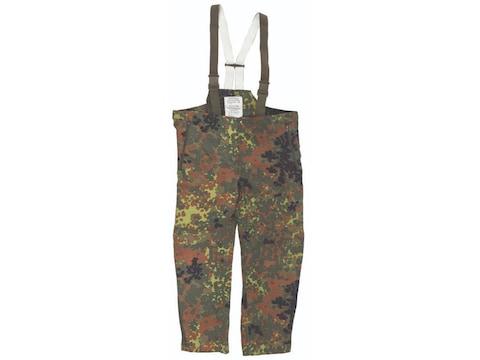 Military Surplus German Wet Weather Flecktarn Camo Pants