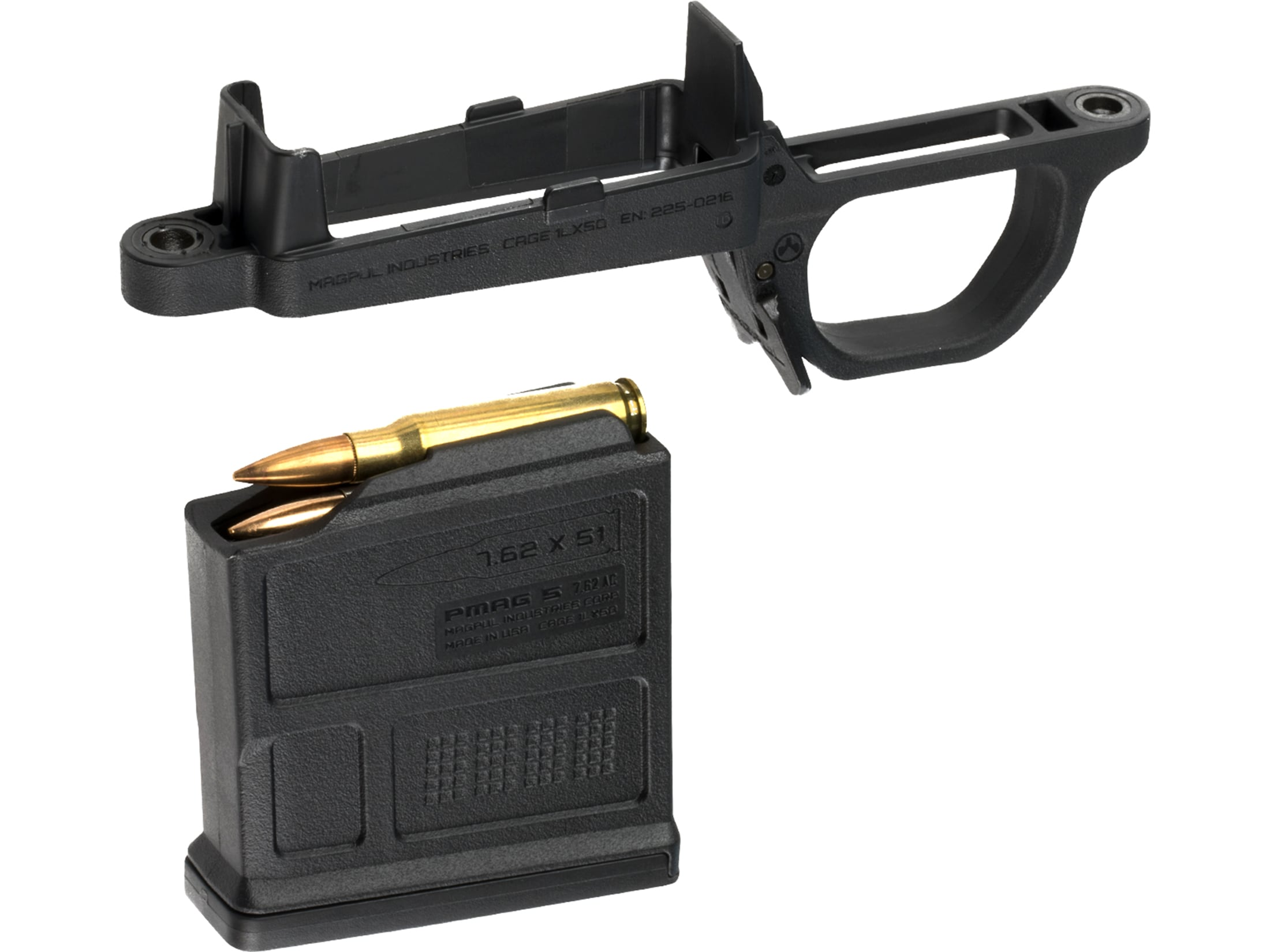 Magpul PMAG 10 AC Mag AICS Short Action 308 Winchester 10-Round