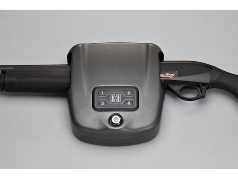 Hornady RAPiD Safe Shotgun Wall Lock RFID Safe Steel Black