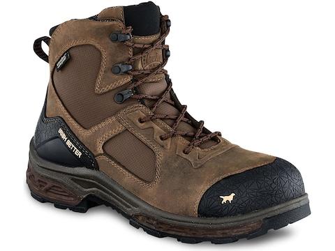 "Irish Setter Kasota 6"" Side-Zip Waterproof Non-Metallic Safety Toe Work Boots Men's"