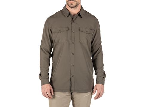 5.11 Men's Marksman Long Sleeve Shirt Polyester