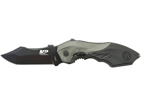 "Smith & Wesson SWMP5L M&P M.A.G.I.C Assisted Opening Liner Lock Folding Knife 3.5"" Clip..."