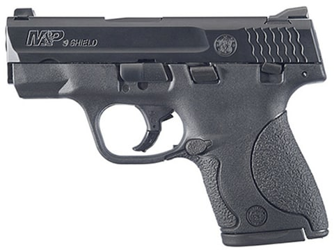 "Smith & Wesson M&P Shield Pistol 3.1"" Barrel Black with Thumb Safety"