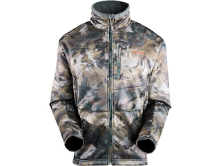 Sitka Gear Men's Gradient Fleece Jacket Polyester Optifade Waterfowl Timber Camo 2XL