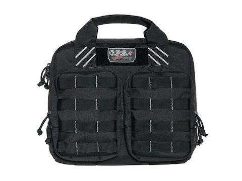 G.P.S. Tactical Double Pistol Range Bag