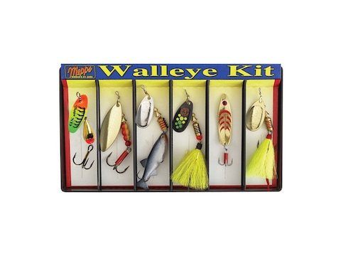 Mepps Walleye Kit Plain & Dressed 6PK
