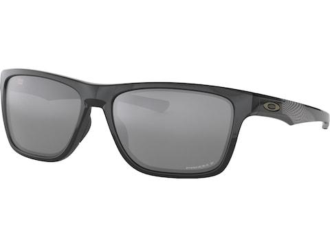 Oakley Holston Midnight Polarized Sunglasses Polished Black Wave Frame/PRIZM Black Lens