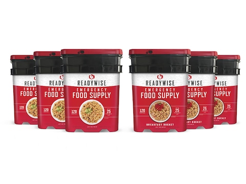 ReadyWise 720 Serving Vegetarian Entree and Breakfast Freeze Dried Food Kit